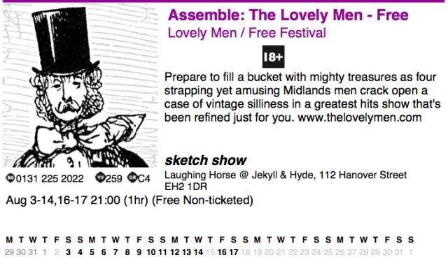 The Official Fringe Programme for 3013