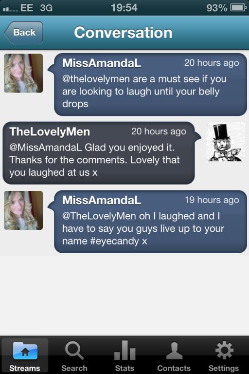 eyecandy tweet